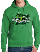 Load image into Gallery viewer, Clear Fork Softball Hooded Sweatshirt