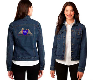 GOCC - Full Color Embroidered - Ladies Denim Jacket