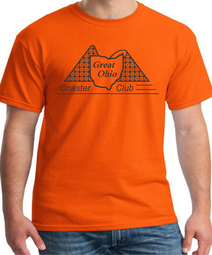 GOCC Black Design - Orange T