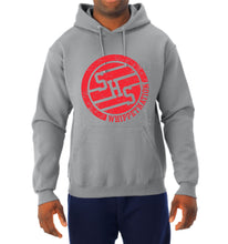 Load image into Gallery viewer, Whippet Nation Red Circle Hoodie