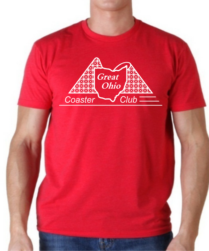 GOCC White Design - Red T