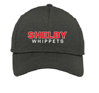 Shelby Whippet Embroidered Fitted Caps