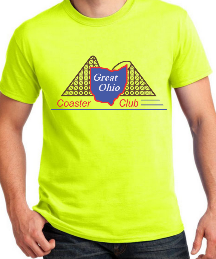 GOCC Full Color - Saftey Green T
