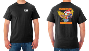 Union Steelworkers Black Tee Shirt