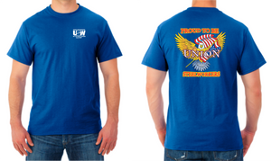 Union Steelworkers Blue Tee Shirt