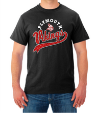 Load image into Gallery viewer, Vikings Sparkle Tail Tee Shirt