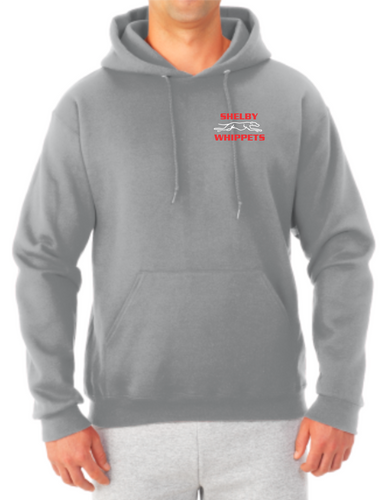 Shelby Whippet Left Chest Option 1 Hooded Sweatshirt