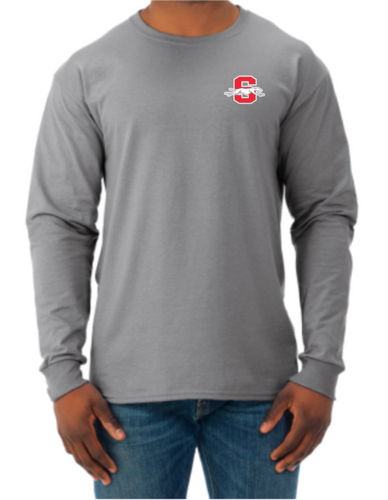 Shelby Whippet Left Chest Option 3 Classic Longsleeve