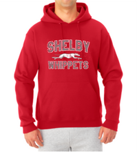 Load image into Gallery viewer, Shelby Whippet SW Dog Hooded Sweatshirt