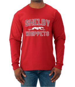 Shelby Whippet SW Dog Long Sleeve T-Shirt