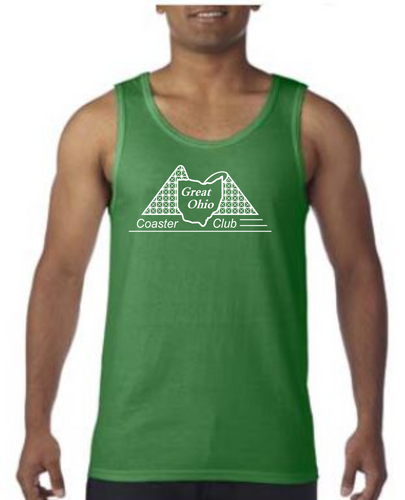 GOCC White Design - Kelly Green Tank