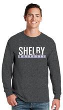 Load image into Gallery viewer, Shelby Whippet White and Grey Long Sleeve