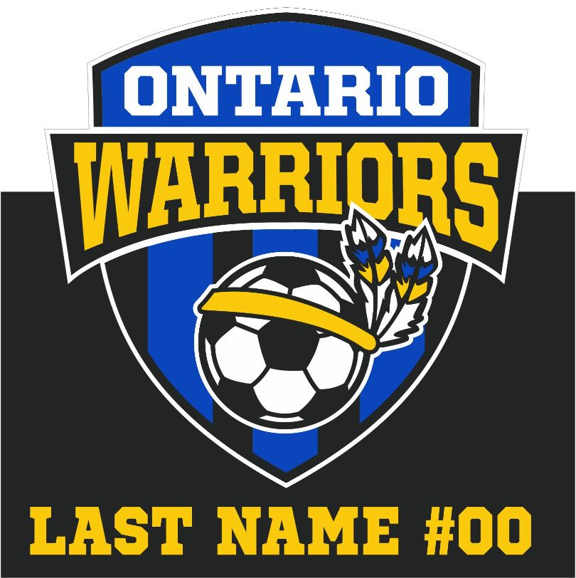 Ontario Soccer Yard Sign
