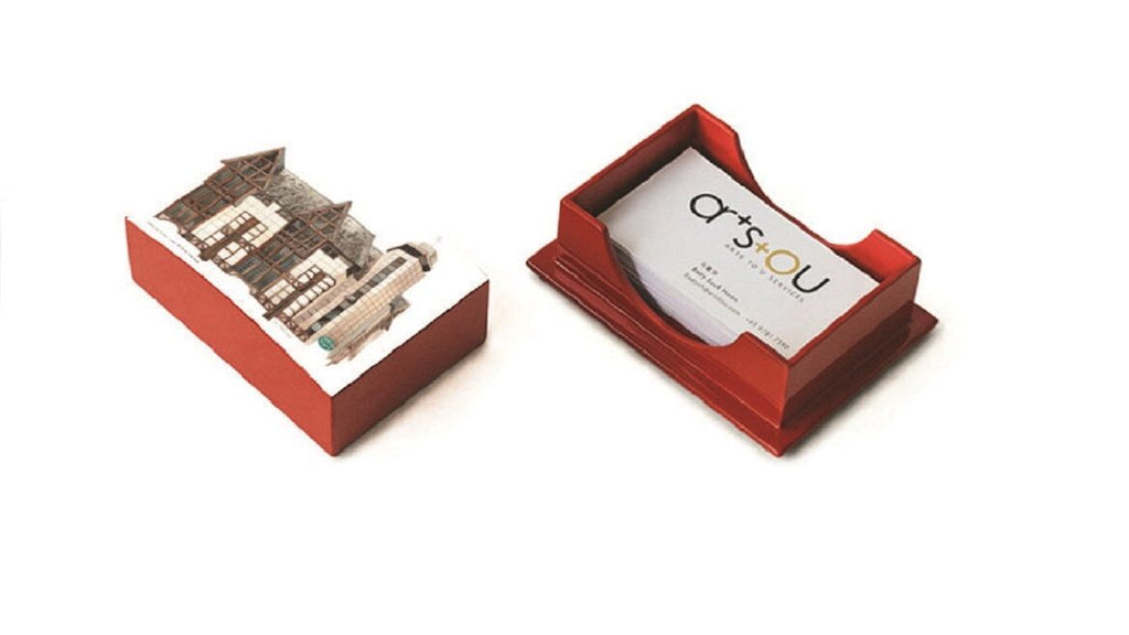 Tanglin House uniquely-designed gift business card holder