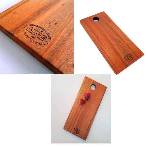 African Mahogany Cheese / Serving Board – Small