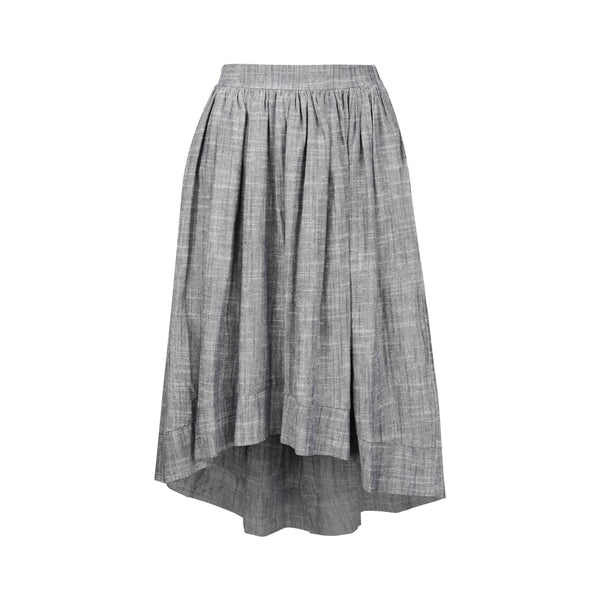 Japanese Linen Hi/Low Skirt