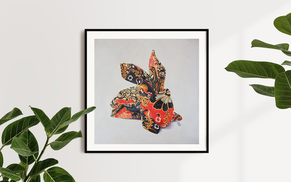 Oribunny Batik - Limited Edition Prints