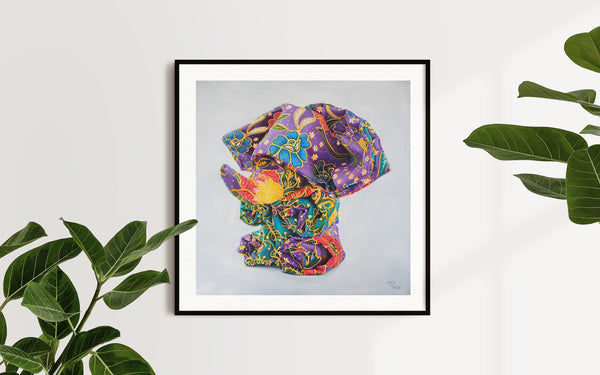 Oriphant Batik - Limited Edition Prints