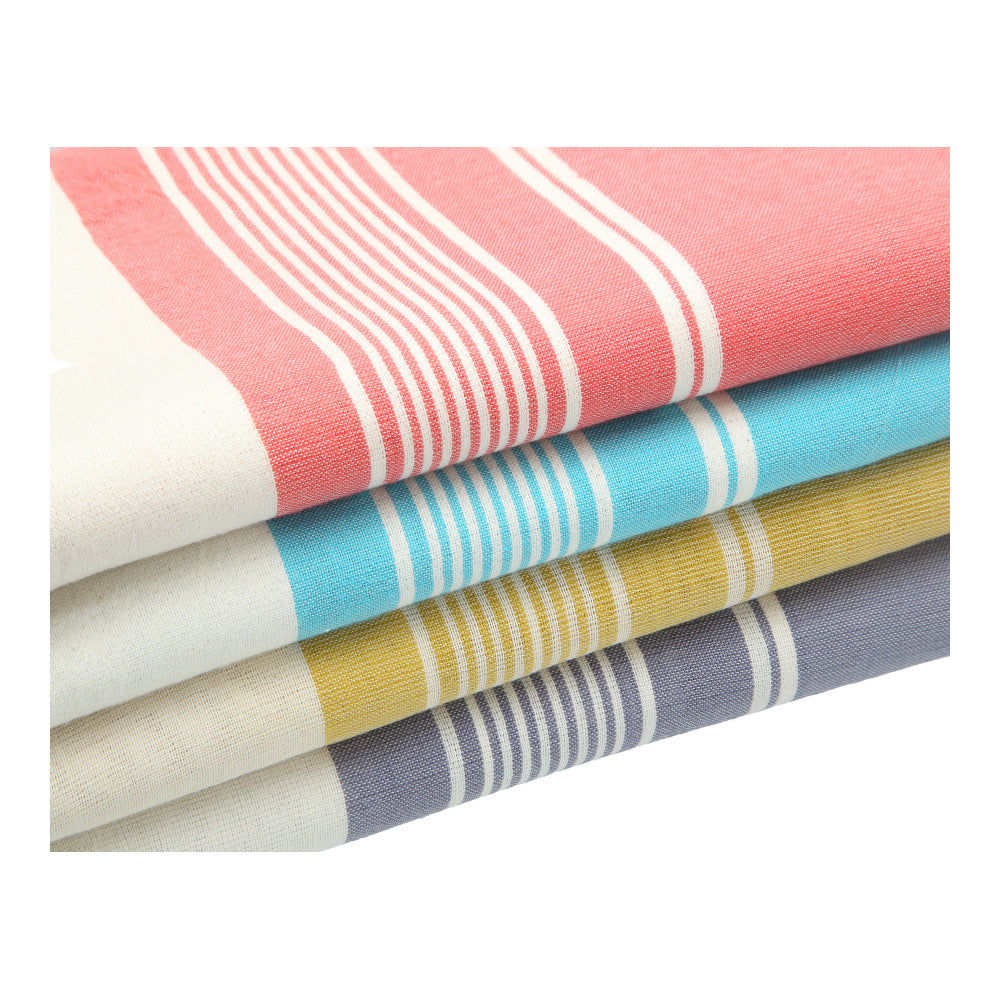 soft, cotton traditional hand-made bath towel for home and outings