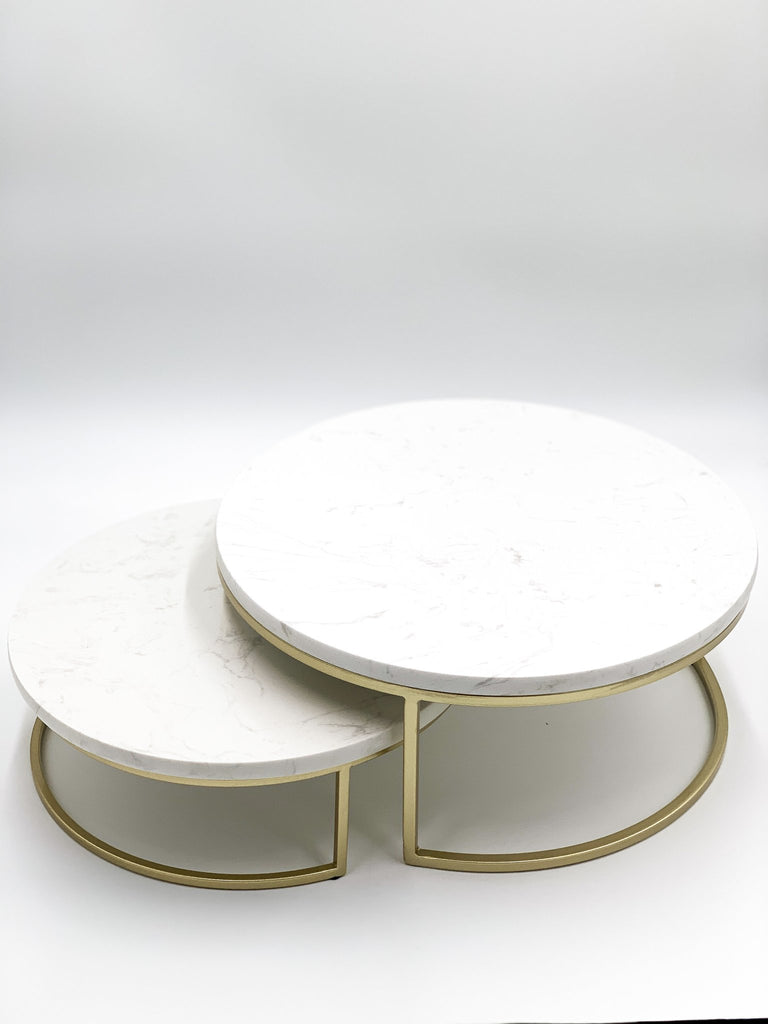 Santorini Marble Stand Cake Stand Tray - Kitchenware and Serving Decor