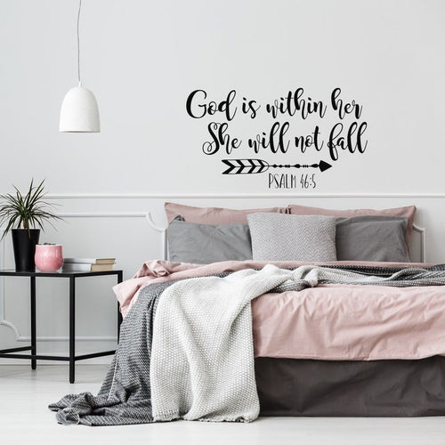Psalm 46:5 Wall Decal