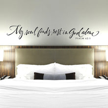 Load image into Gallery viewer, Psalm 62:1 Wall Decor/Decal