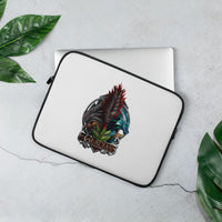 four dragons of glacias laptop sleeve open