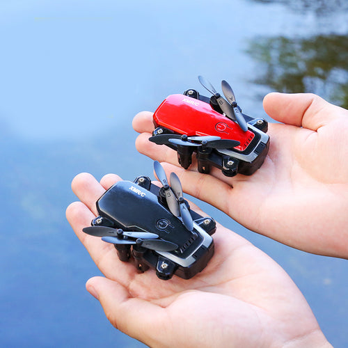 Rc Helicopter 2000000 Pixel Selfie Drones With Camera Hd Professional Kids Toys For Boys Mini Pocket Rc Drone Foldable Small Toy