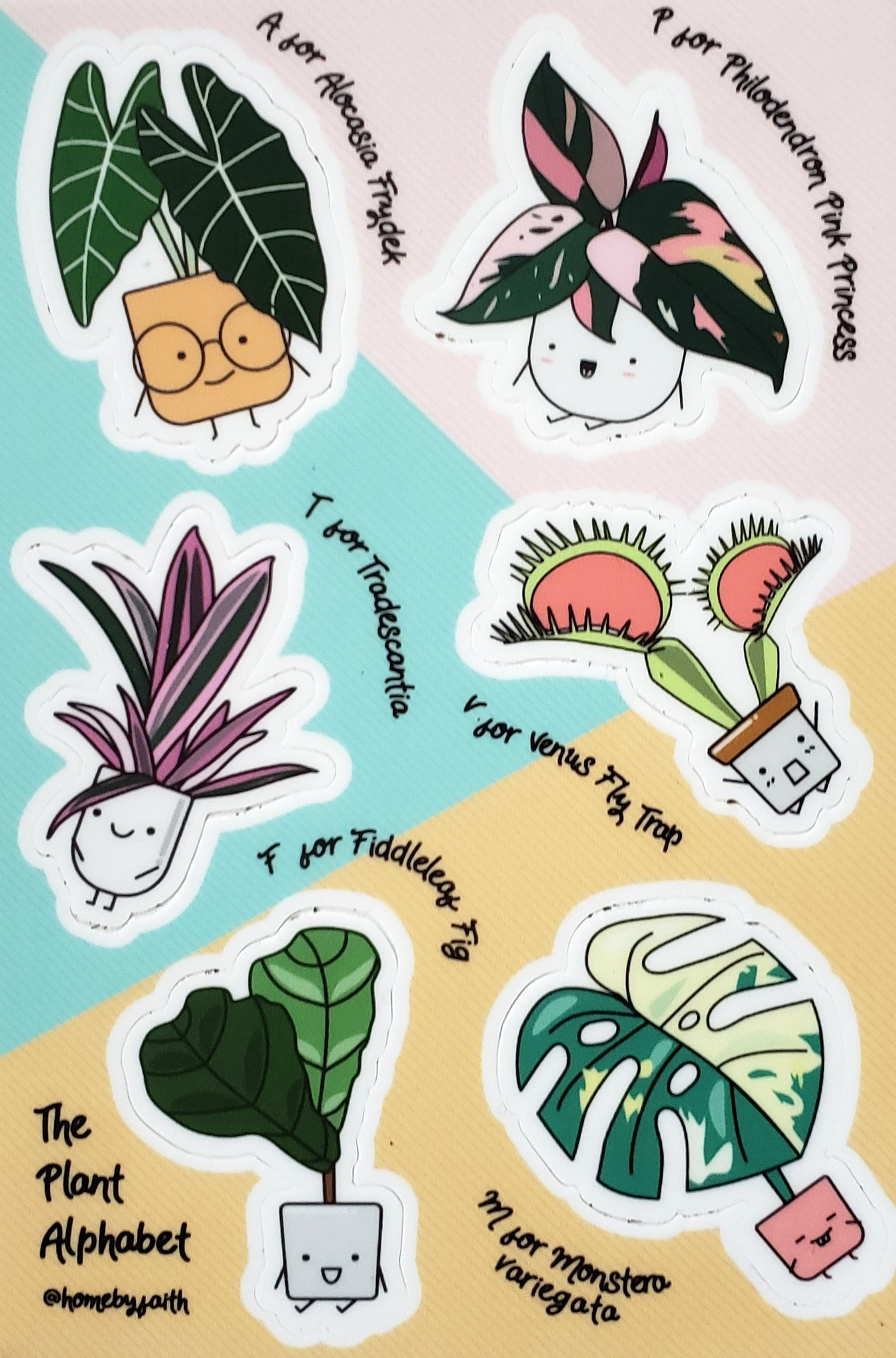 Plant Character Sticker Sheet #2