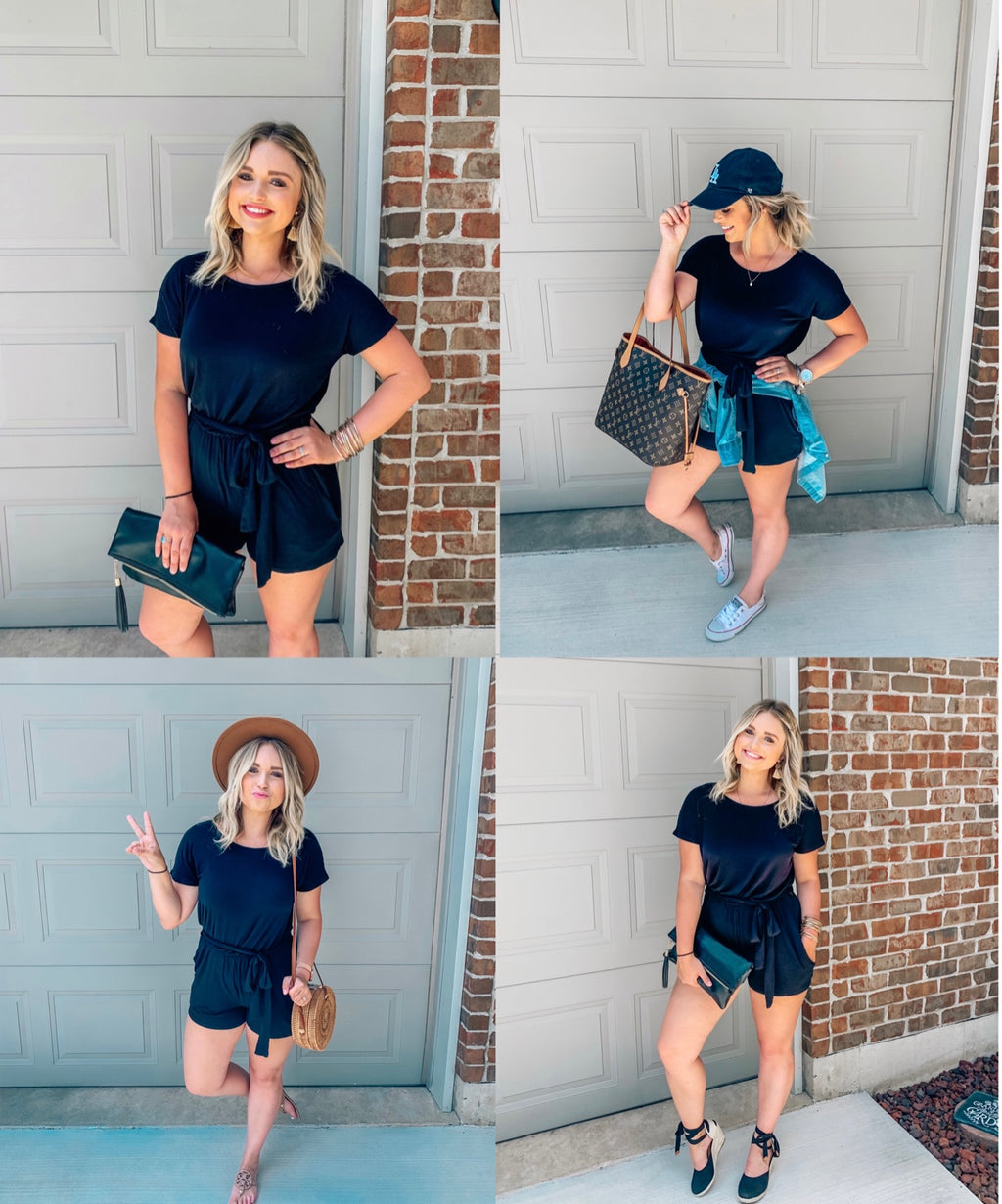 3 Ways to Style the Raven Romper