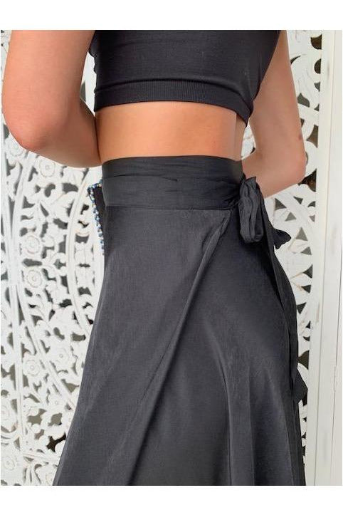 Esme Maxi Skirt in Black