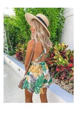Tropical Talia Romper