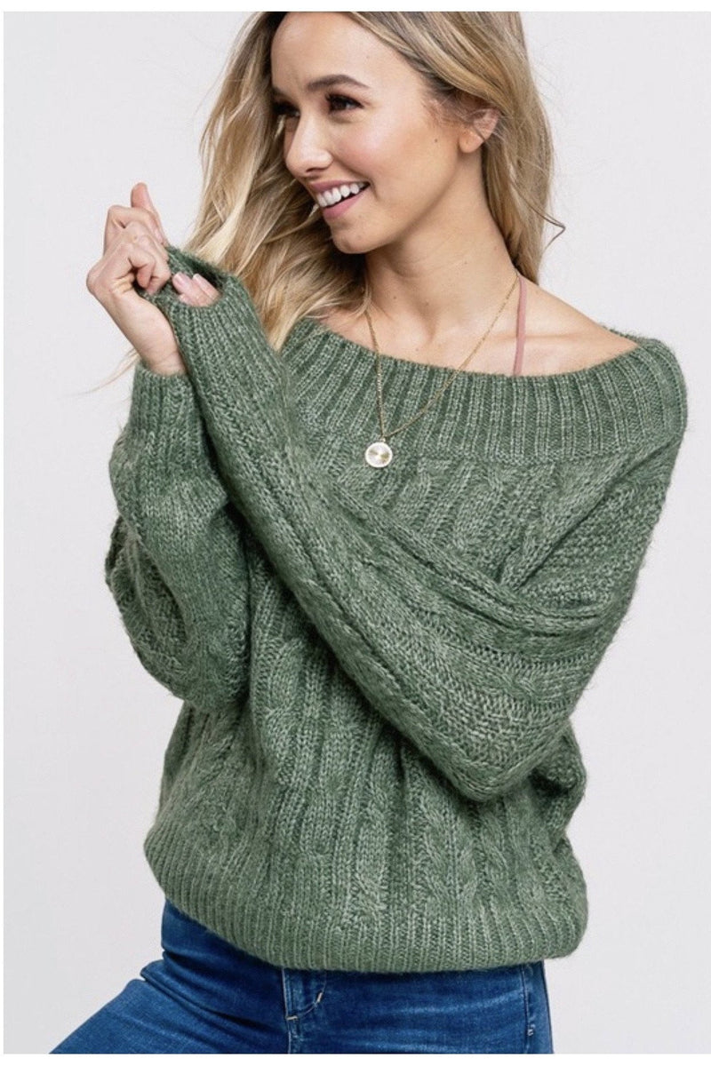 Olive You Sweater