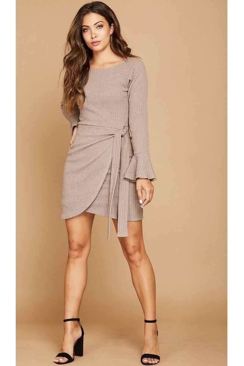 Kiersten Wrap Dress - Indigo Closet