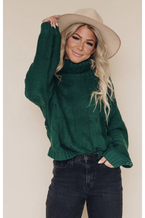 Laurel Turtleneck Sweater $58