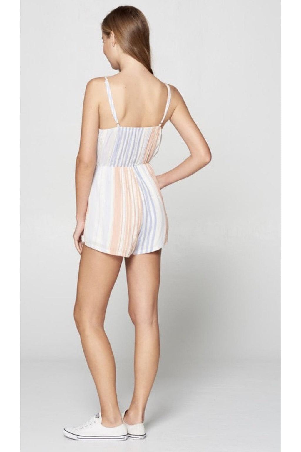Sandy Striped Romper