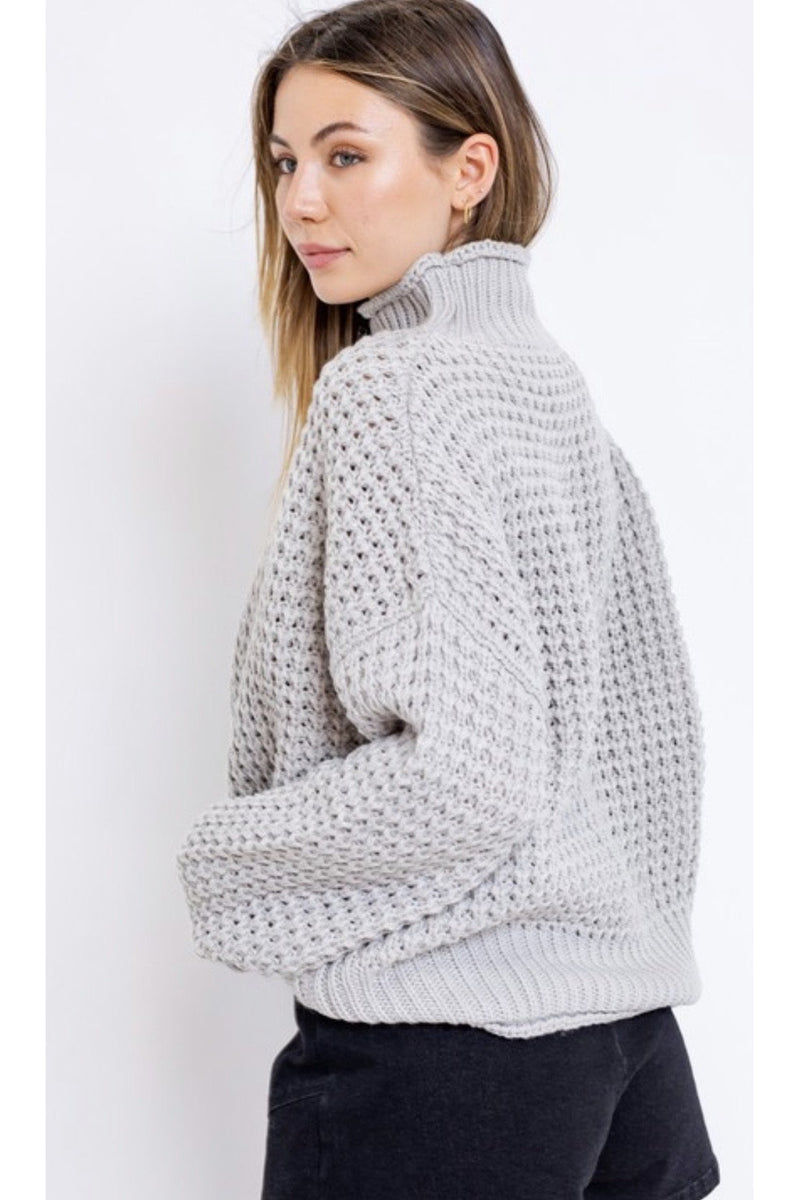Alana Knit Turtleneck Sweater