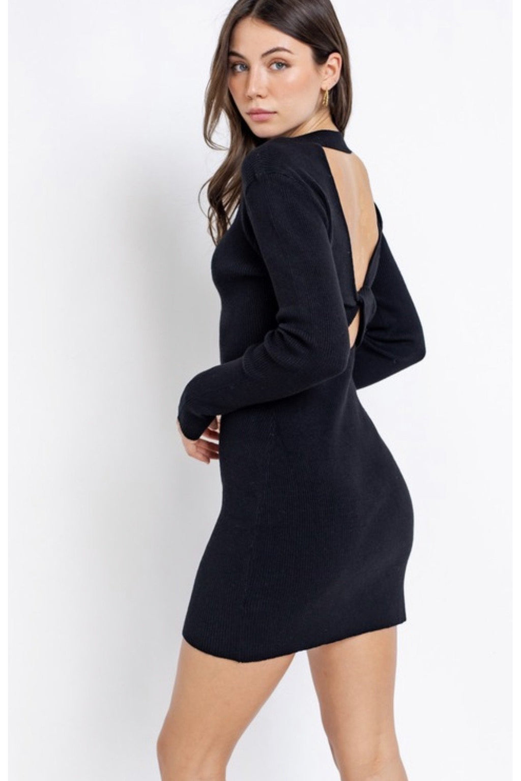 Salem Open Back Sweater Dress