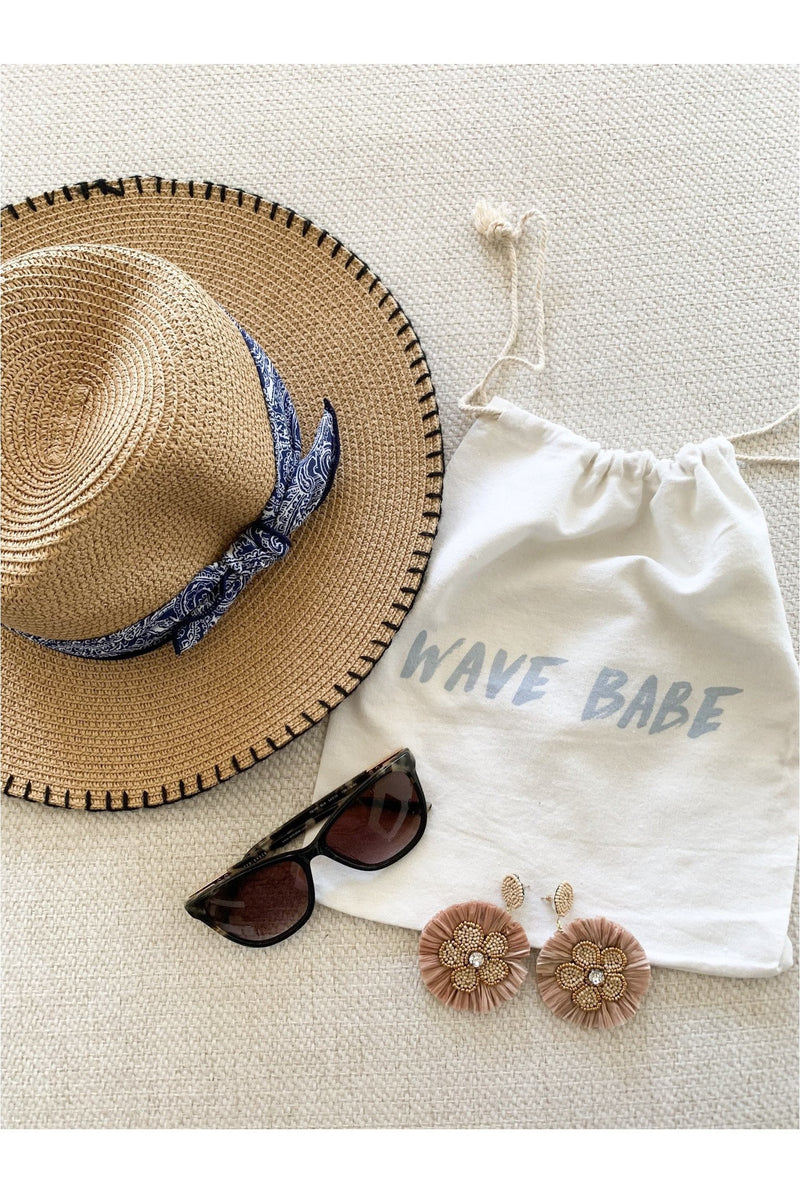 Wave Babe Accessory Beach Bag