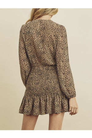 Marisol Leopard Print Dress