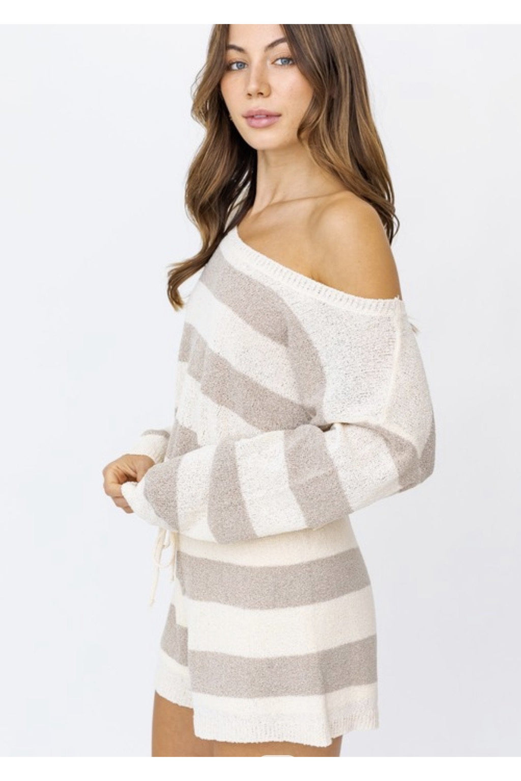Zara Striped Lounge Set $74