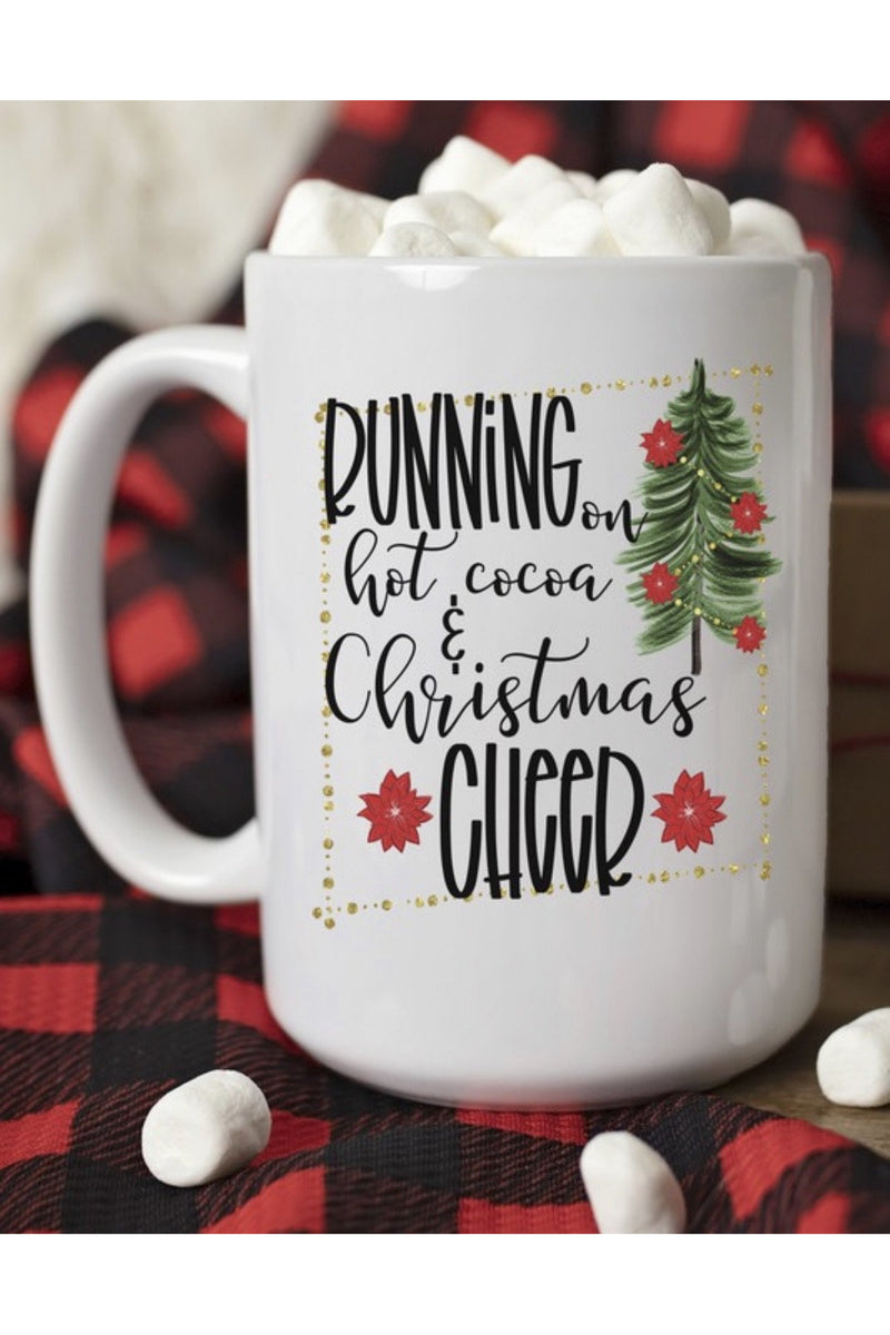 Running on Hot Cocoa Mug