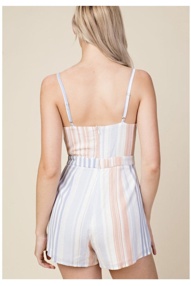 Candy Coated Romper - Indigo Closet