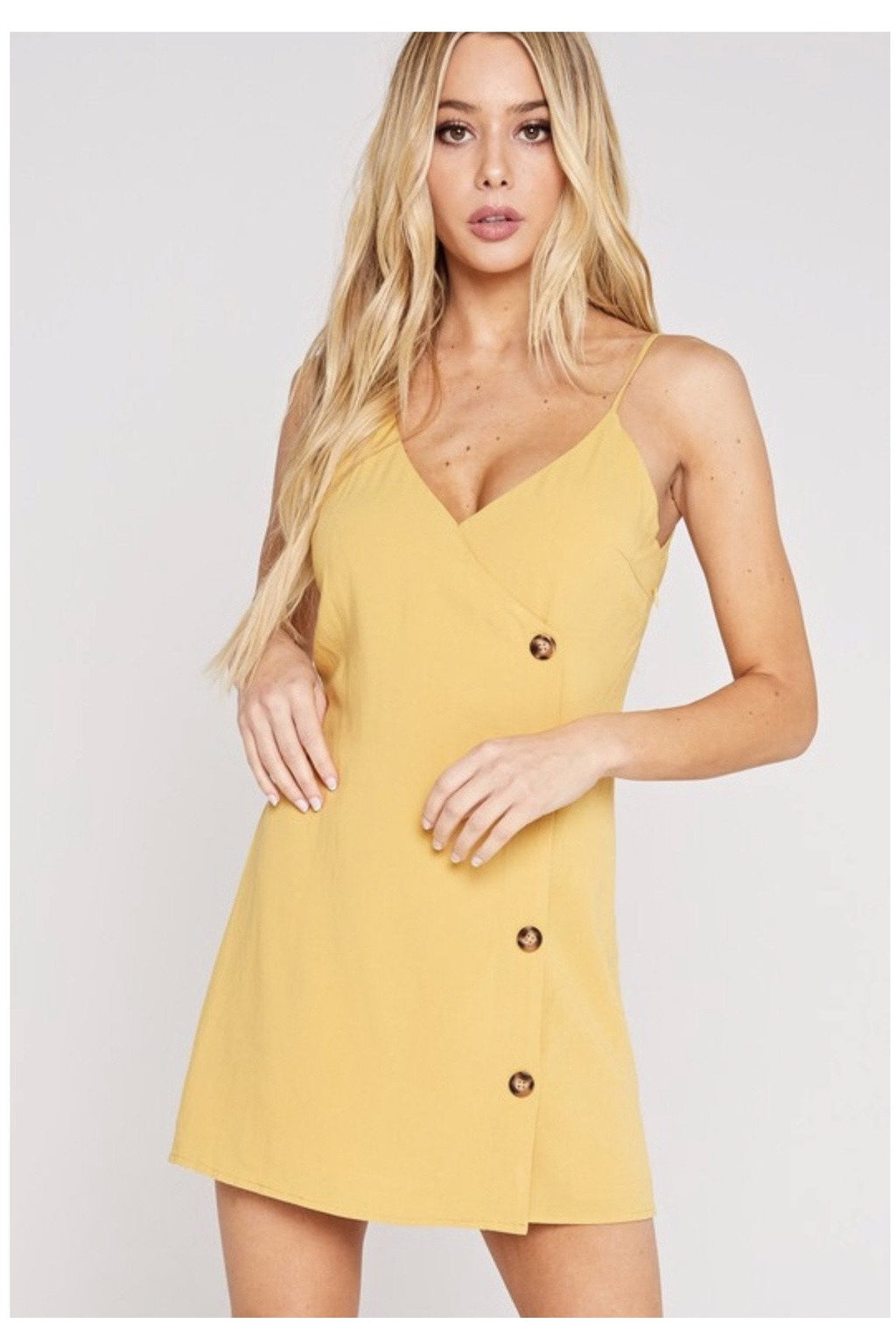 Benny Button Up Dress