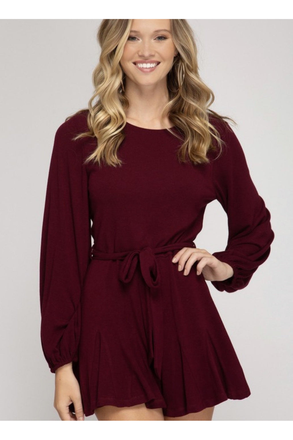 Willow Wine Romper