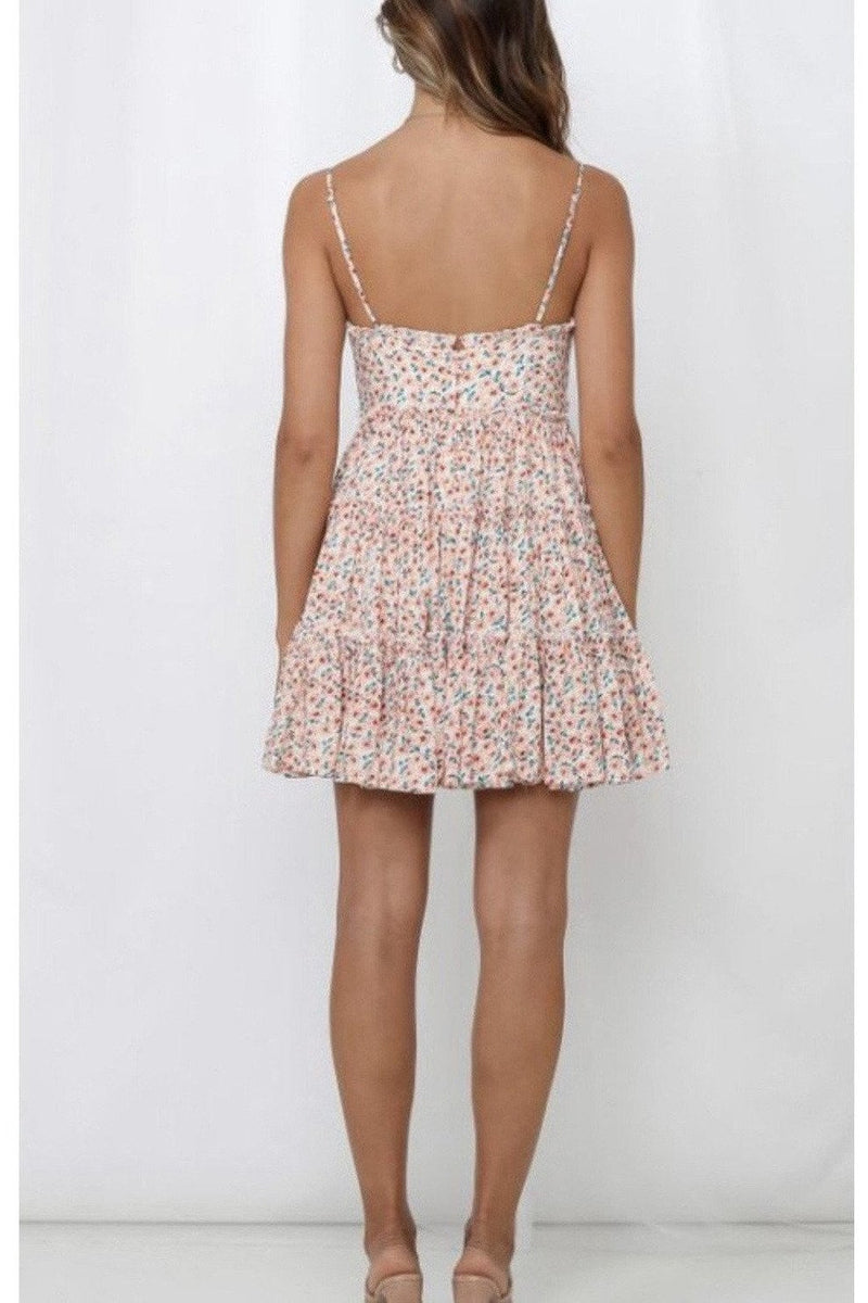 Cassia Floral Sundress $58