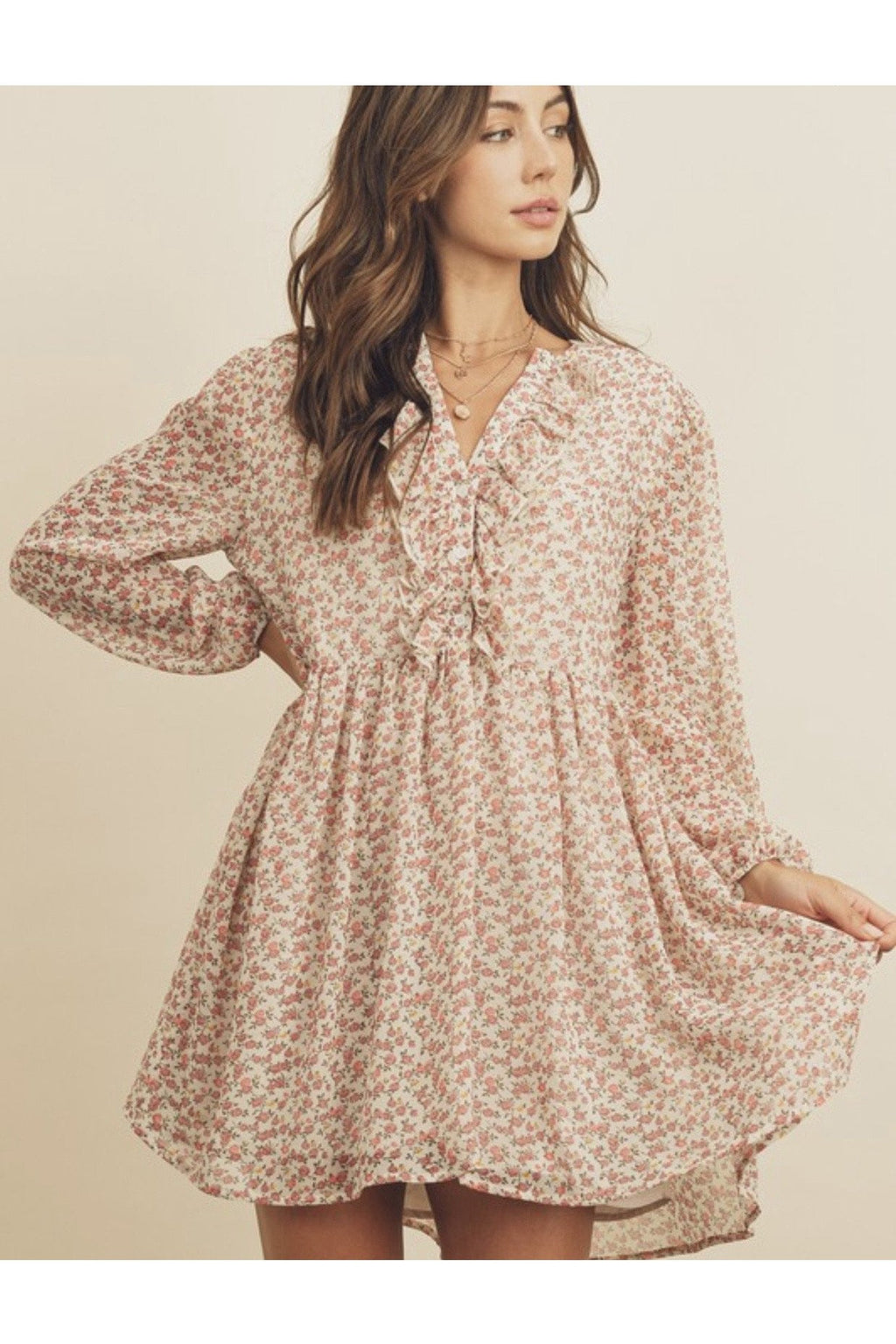 Persephone Floral Swing Dress $58