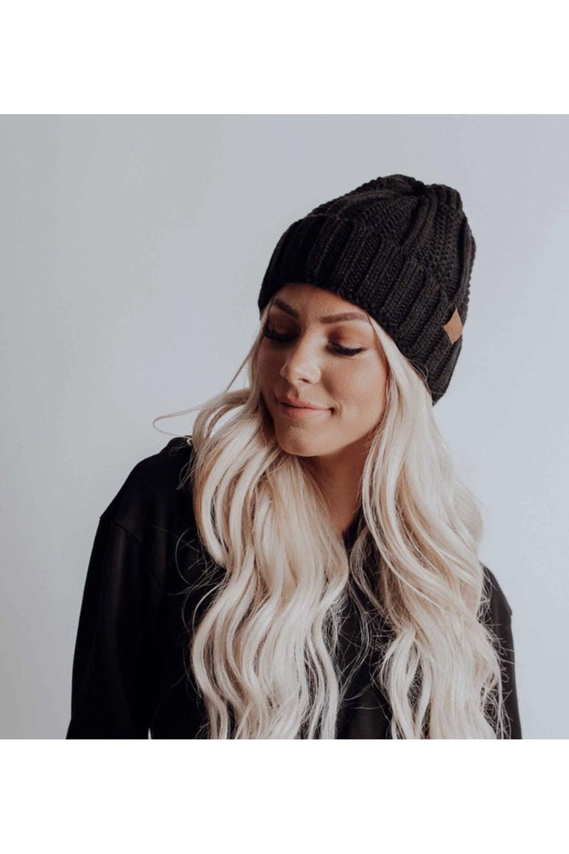 Tyra Beanie in Black
