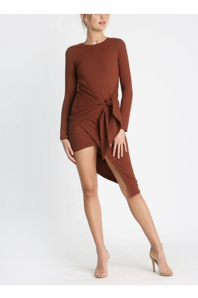 Carmen Asymmetrical Dress