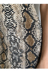 Wildside Snakeskin Mini Dress